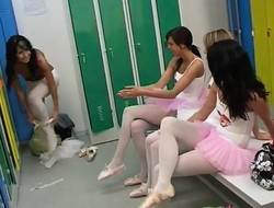 Cute teen couple Hot ballet doll fuckfest