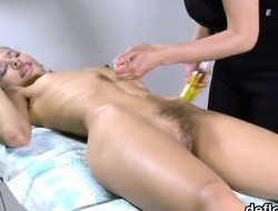 Sensual nympho stretches moist fuckbox and receives deflorated
