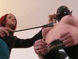 Gal Deelight and Paige Delight are into some serious bdsm shit and they enjoy whiping their asses